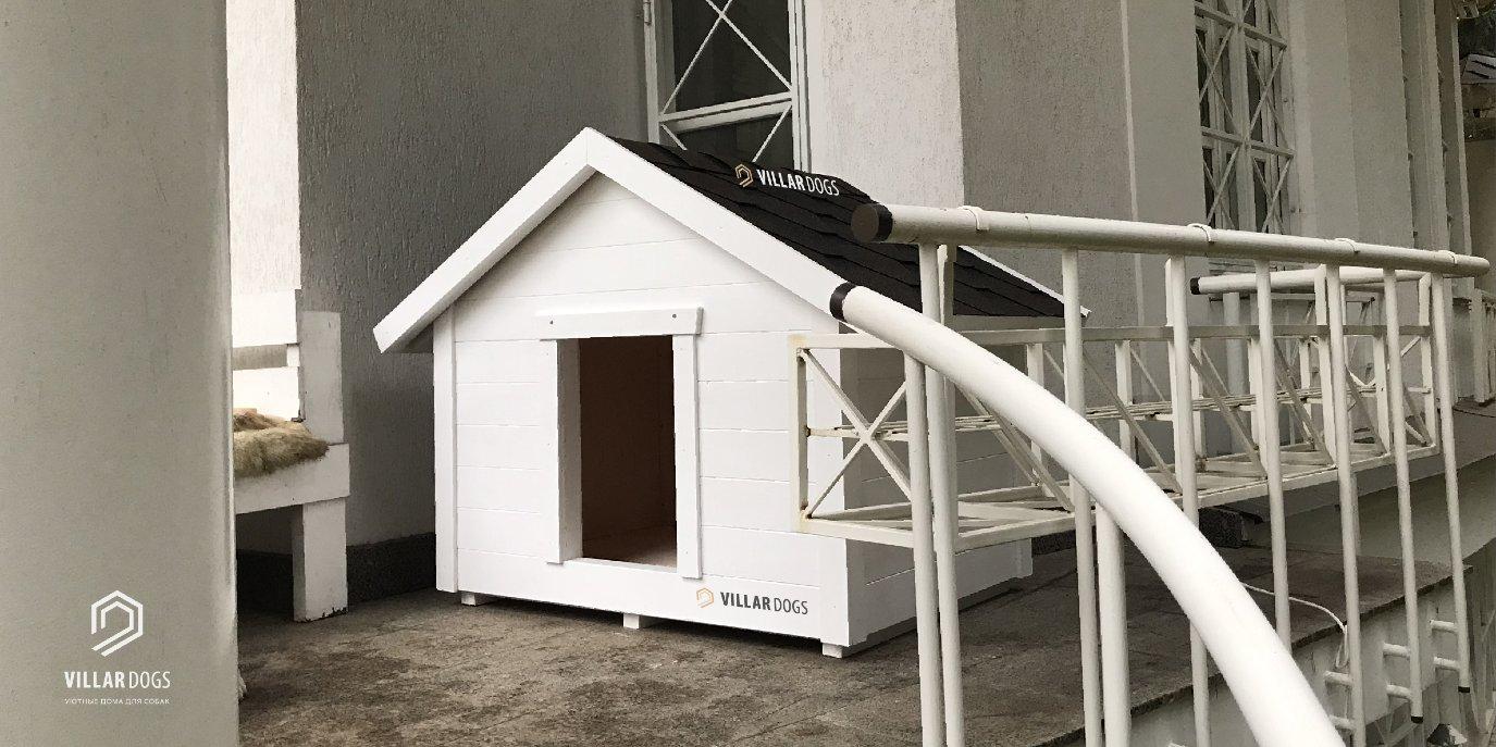 Будка для крупной собаки | Фотографии | VillarDogs