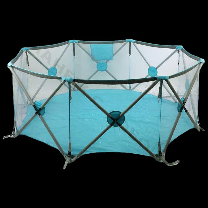 """Детский игровой сухой бассейн МАНЕЖ """"STELLA 8"""" имеет большую площадь, манеж очень компактный в сложанном виде, можно приобрести в интернет магазине манеж-с-собой.рф доставляем по Москве и РФ"""