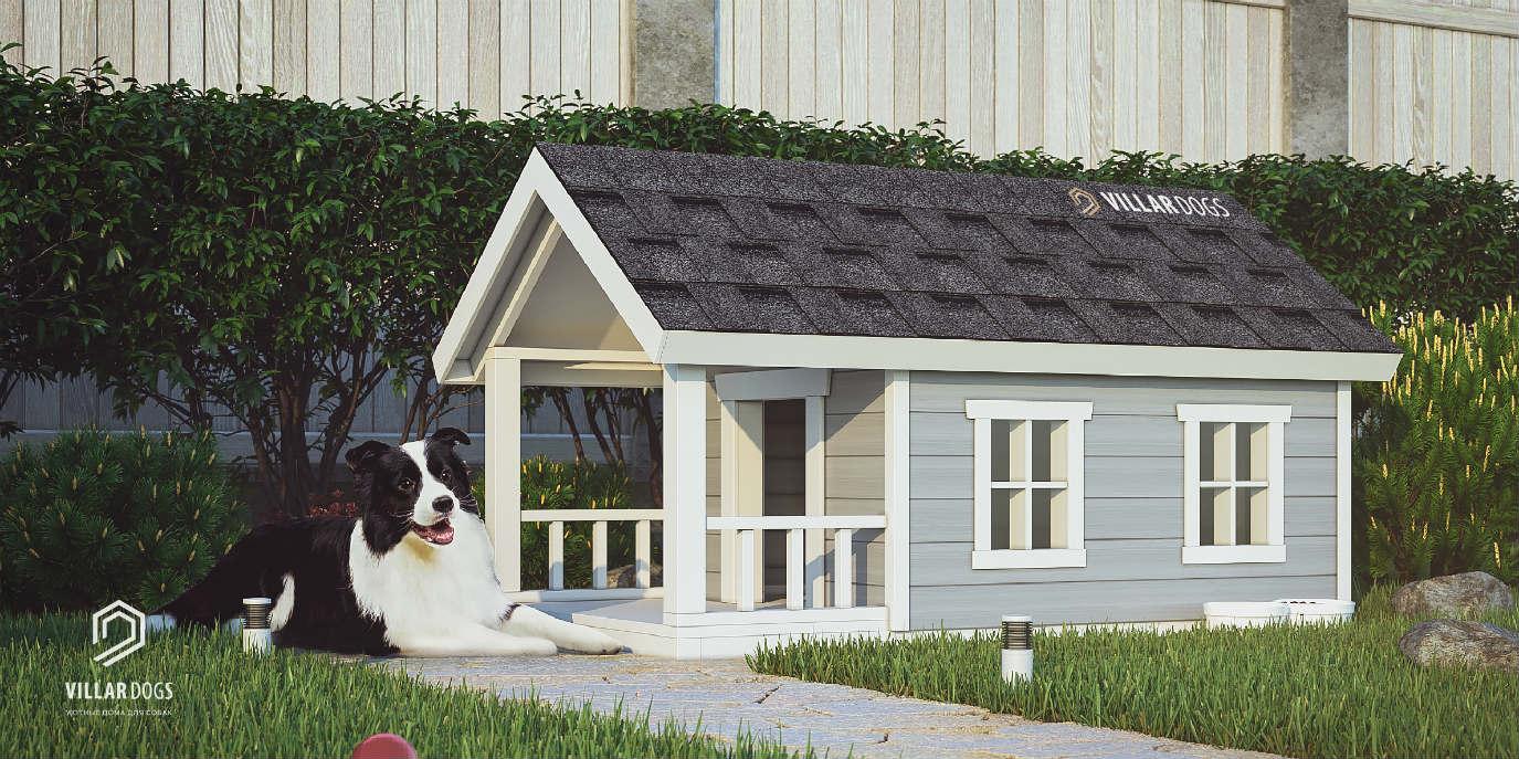 Летний домик для собаки | Фотографии | VillarDogs