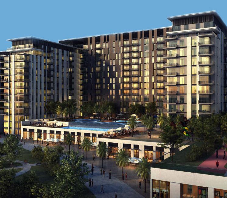 Emaar Acacia Park Heights Apartments in Dubai Hills Estate – Apartments for Sale