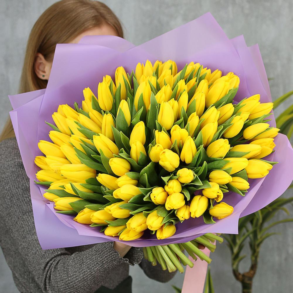 101 тюльпан Strong Gold фото