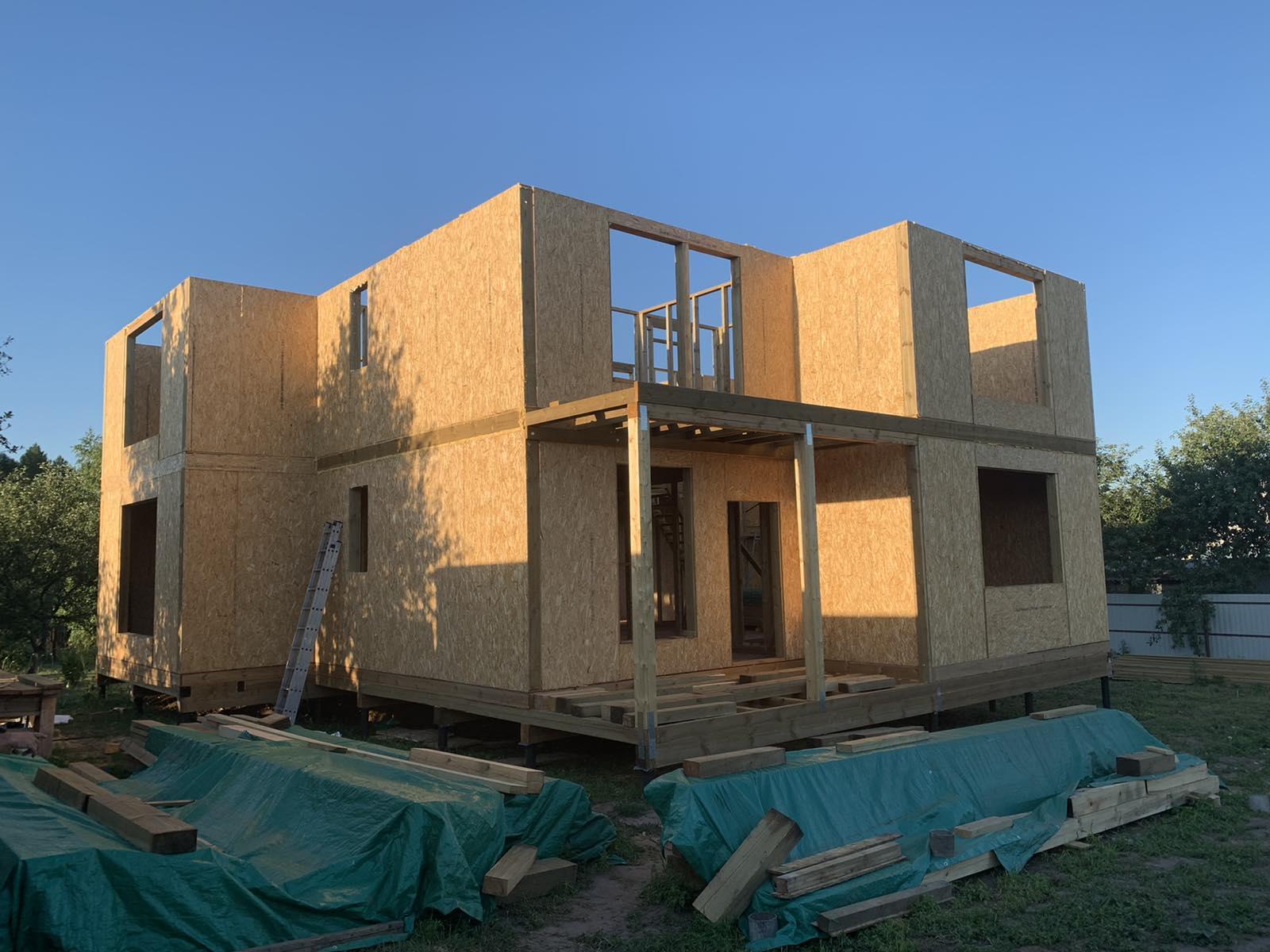 фото дома из сип панелей №4 курск