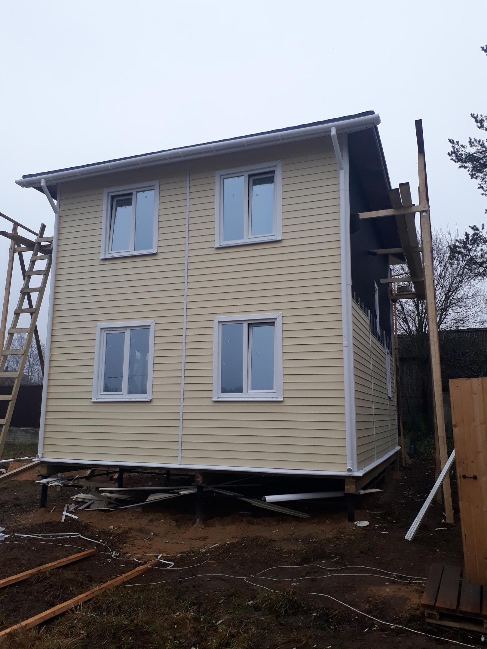 фото дома из сип панелей №5 дранишники