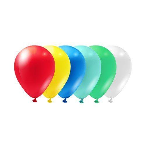 Гелиевые шарики пастель однотонные