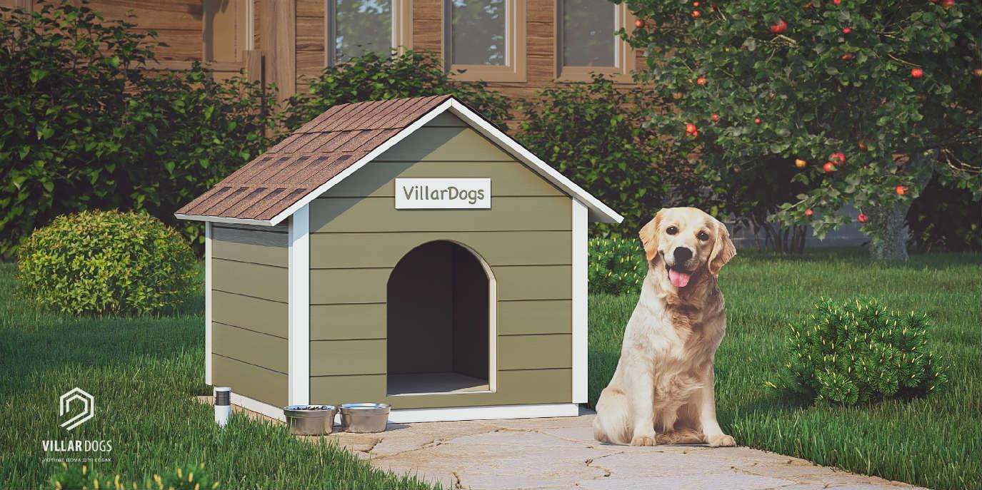 Бюджетная будка для собаки | Фотографии | VillarDogs