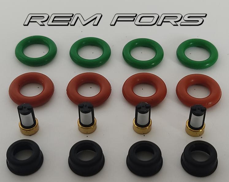 Кольца уплотнительные форсунки 1.8  2.0  Mazda 323-626 99-02 INP-780,  FP35-13-250