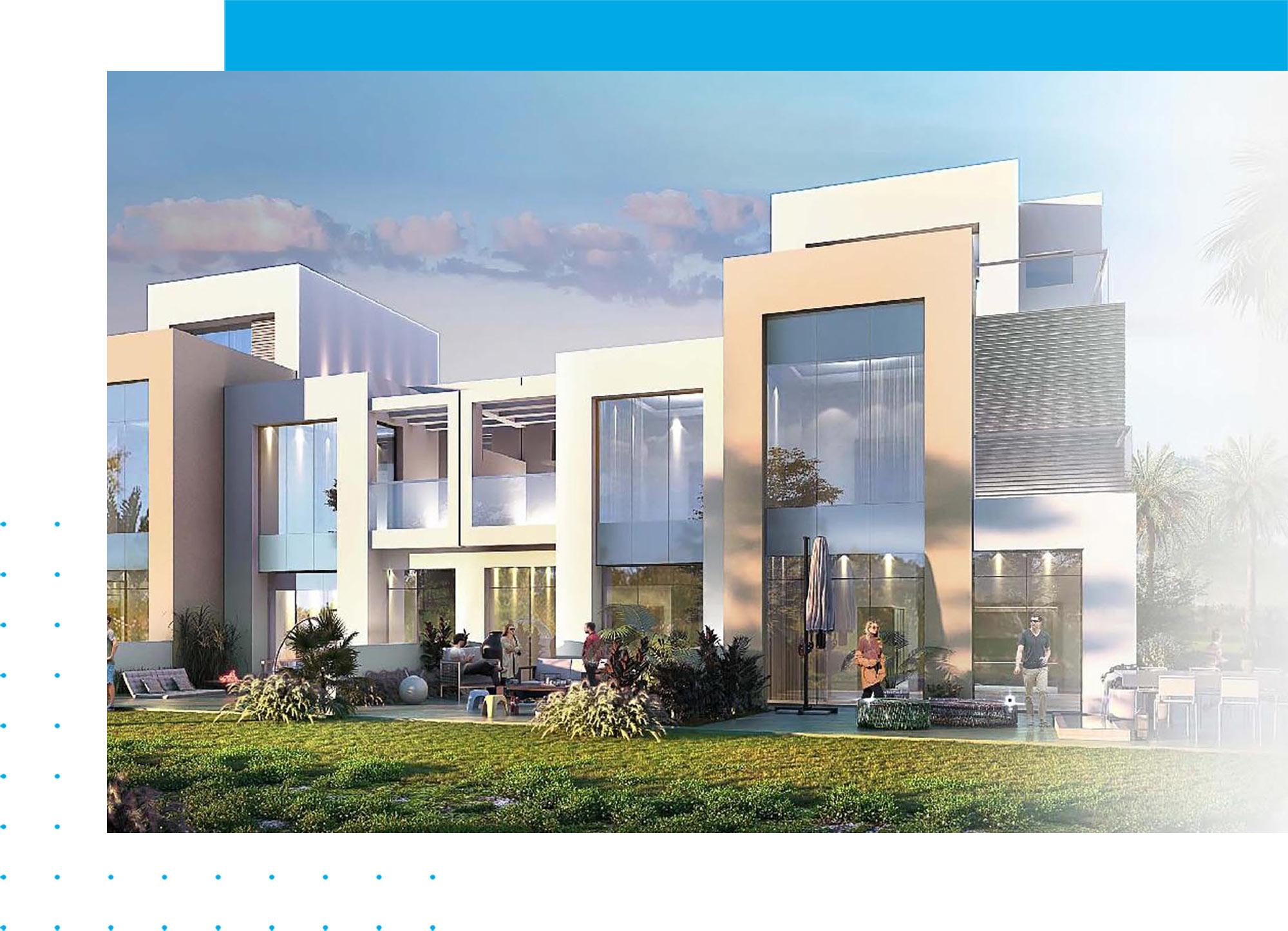 DAMAC Greenwoods Townhouses in DAMAC Hills Estate, Dubai