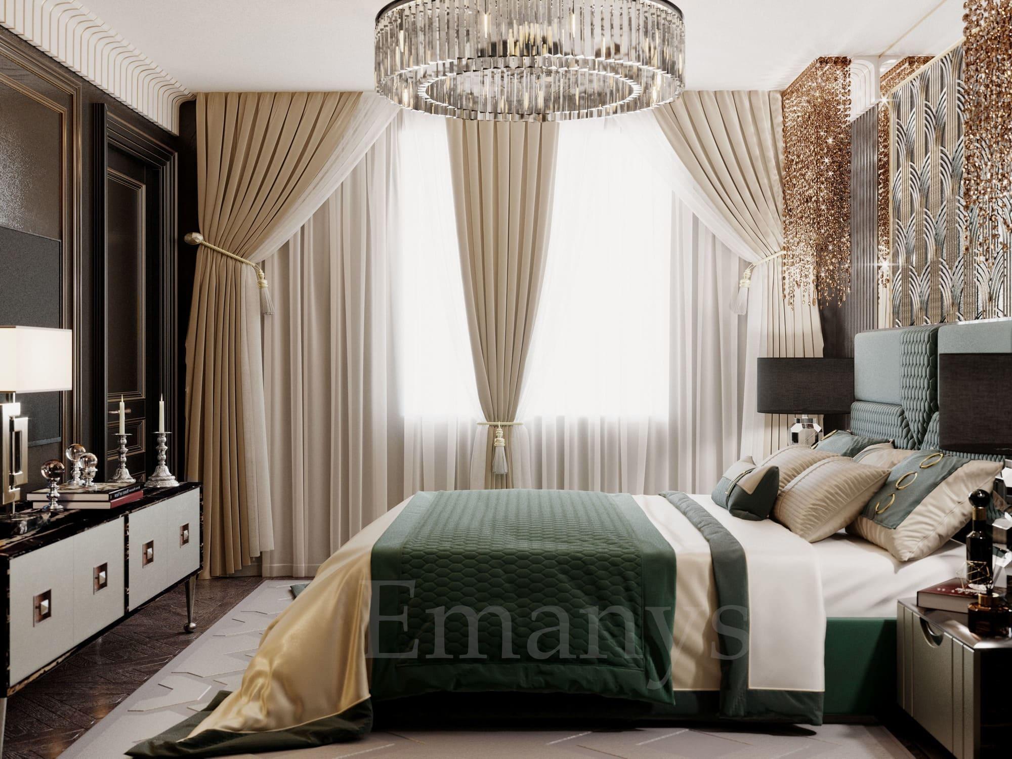 Дизайн интерьера гостиной Emanys