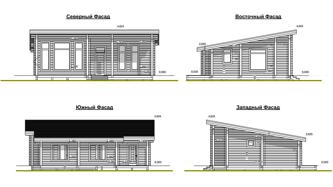 Фасады Plessa 1.0 (Дом Плесса 1.0)