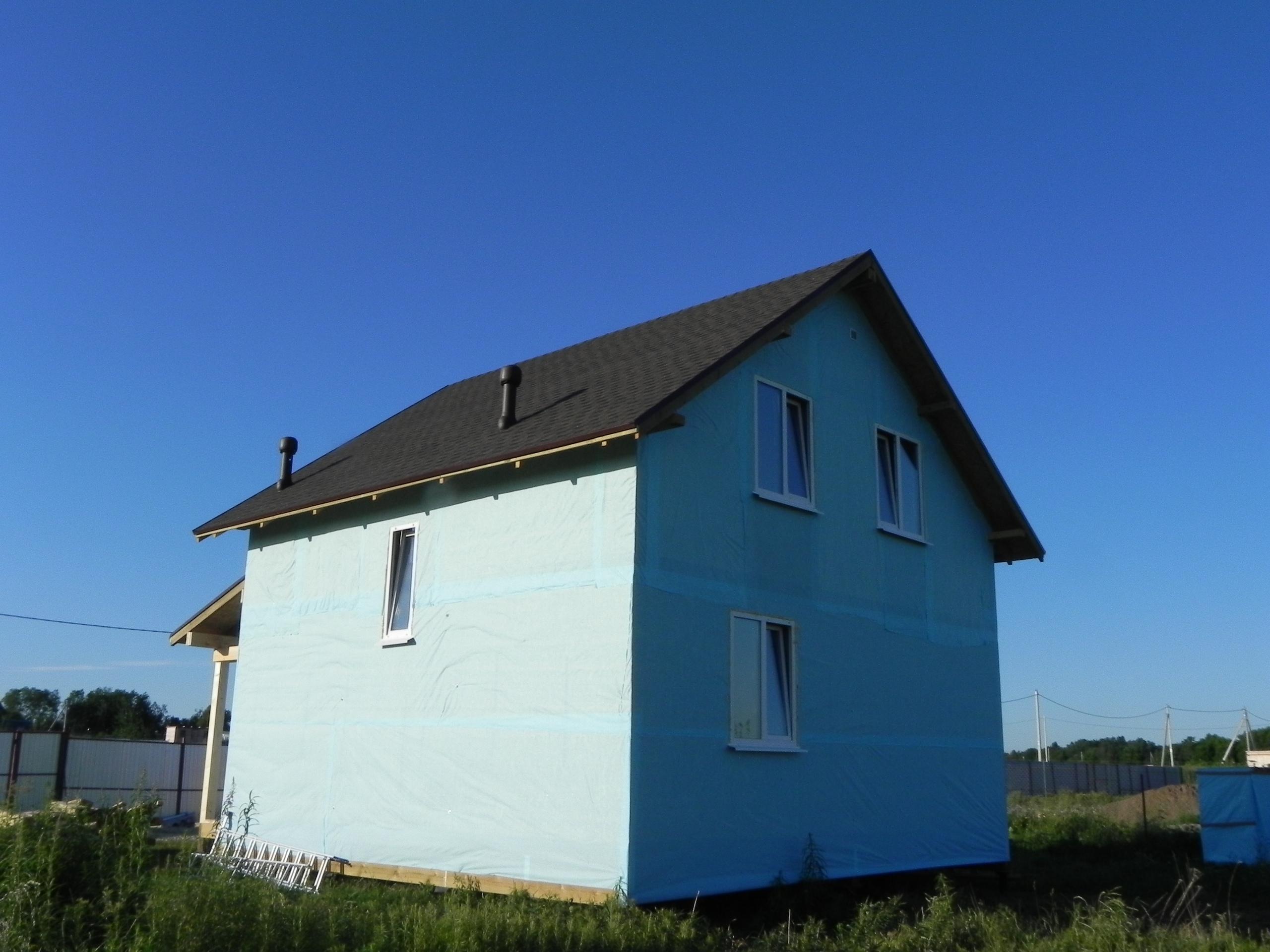 фото дома из сип панелей №1 ропша