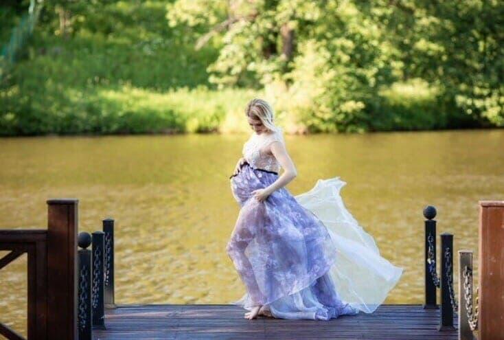 Воздушное платье
