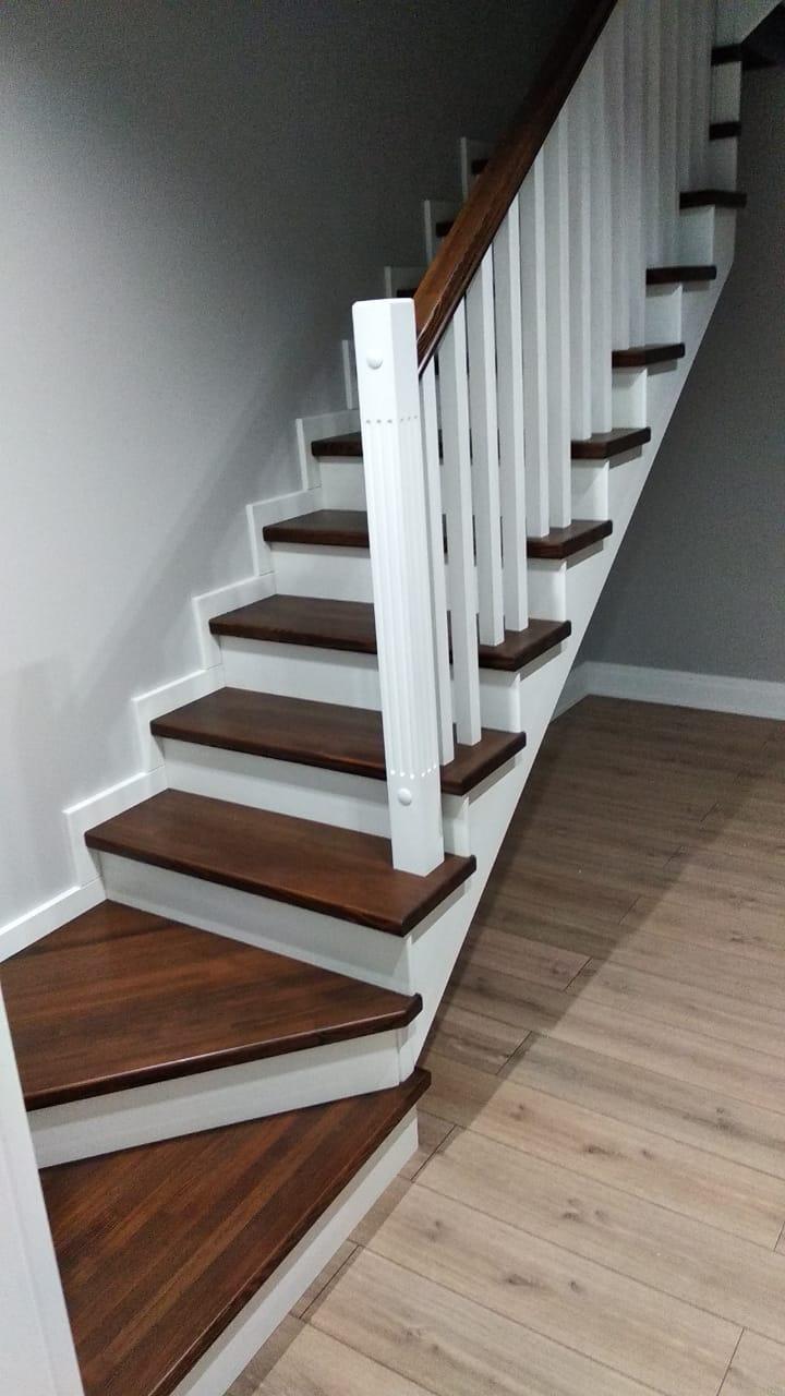 обшивка лестницы, металлокаркас, каркас,