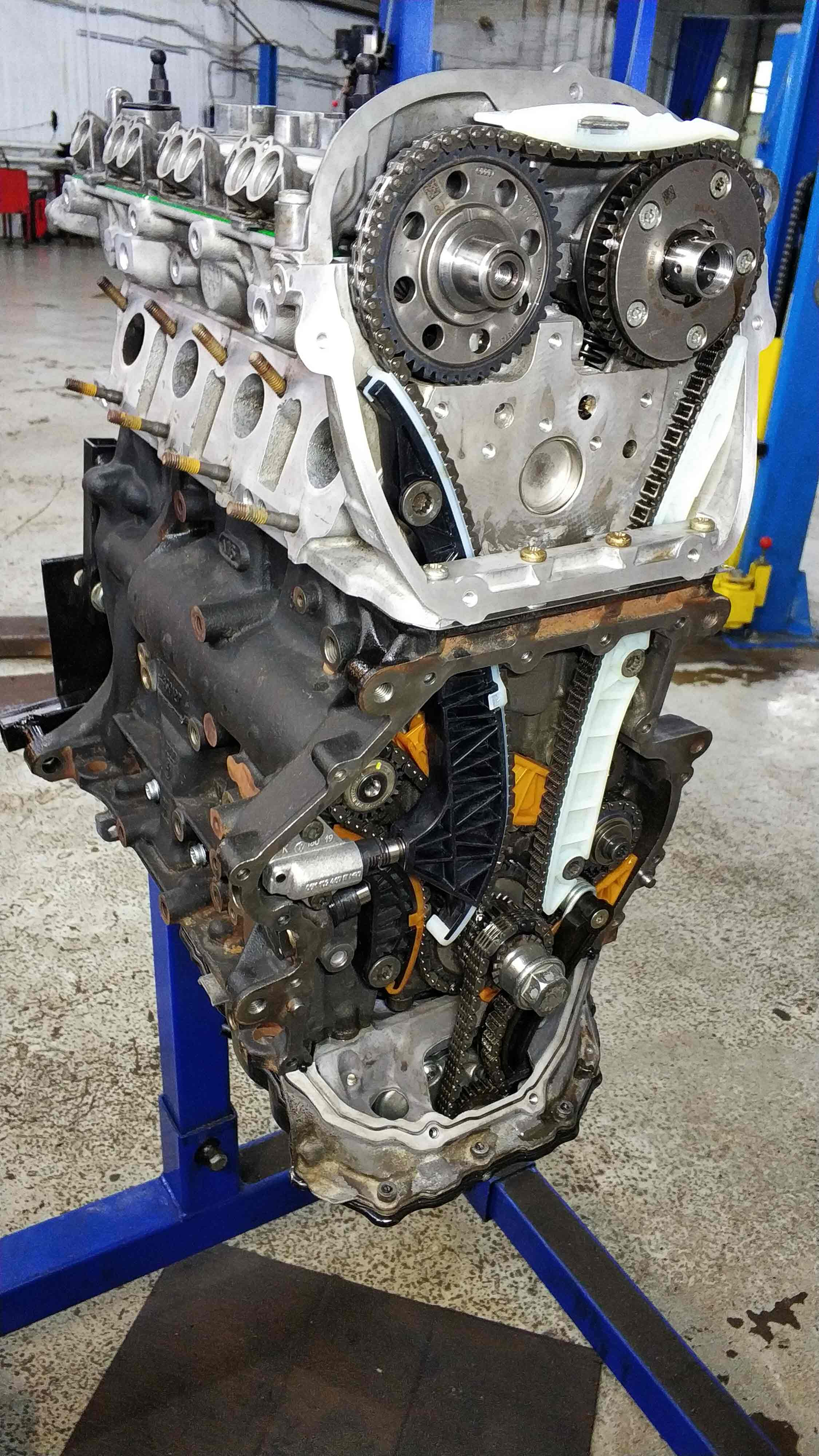 Двигатель CJKA с гарантией 1 год**