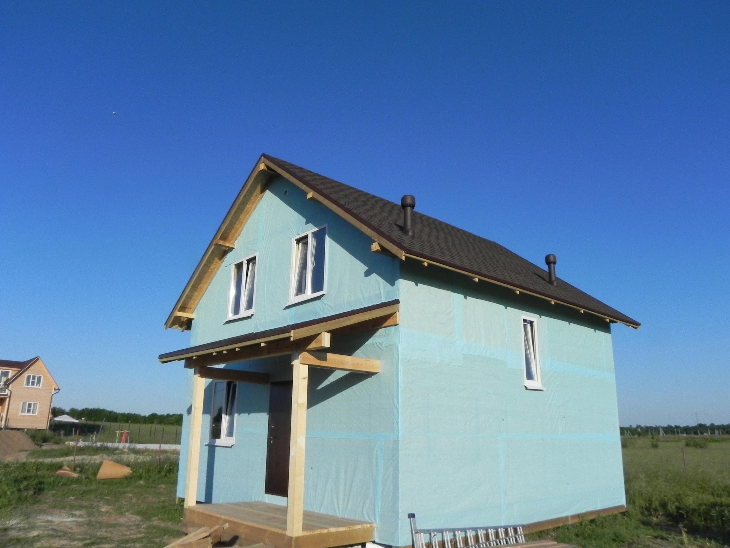 фото дома из сип панелей №3 ропша