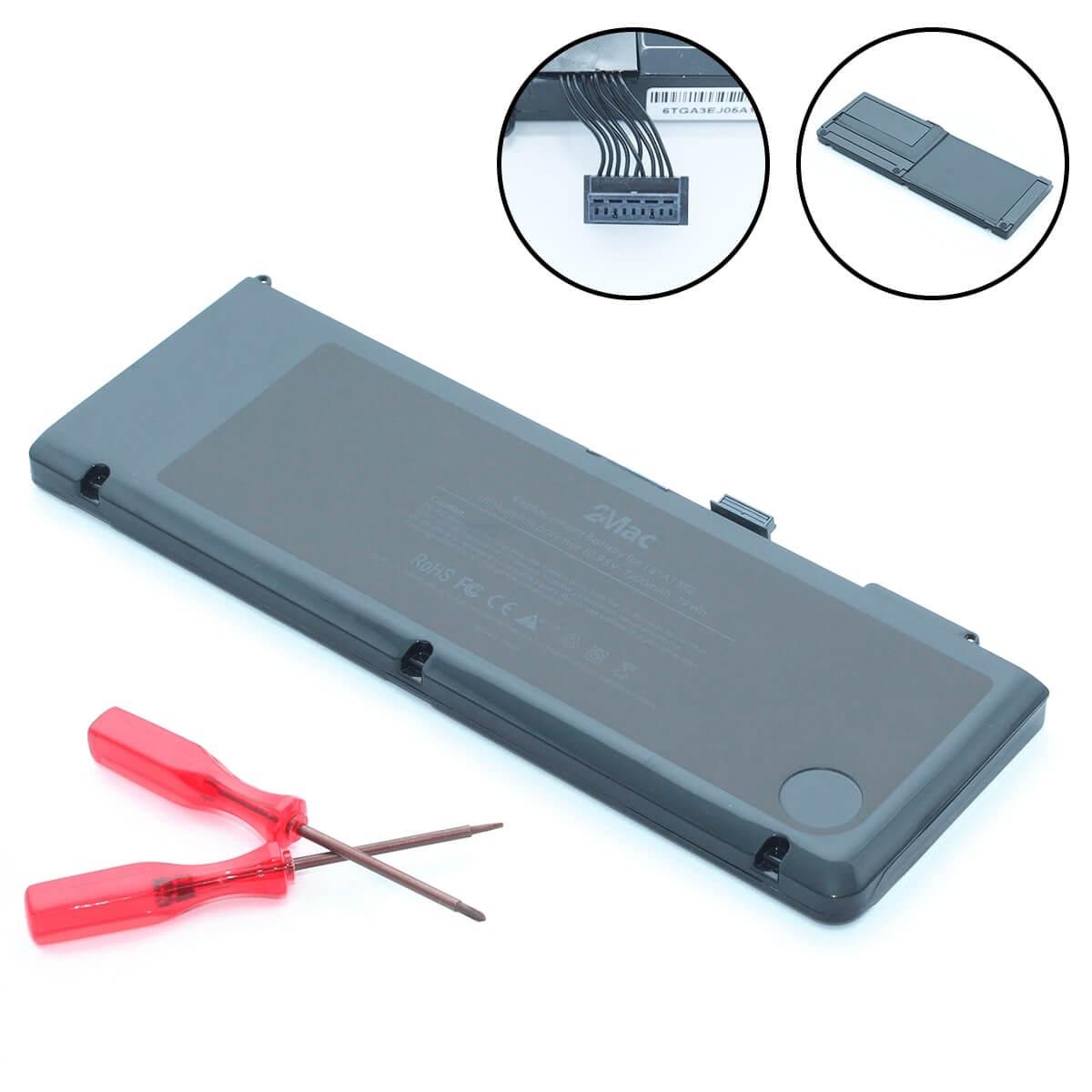 батарея для macbook pro 15 2011, 2012 a1382, батарея для a1286