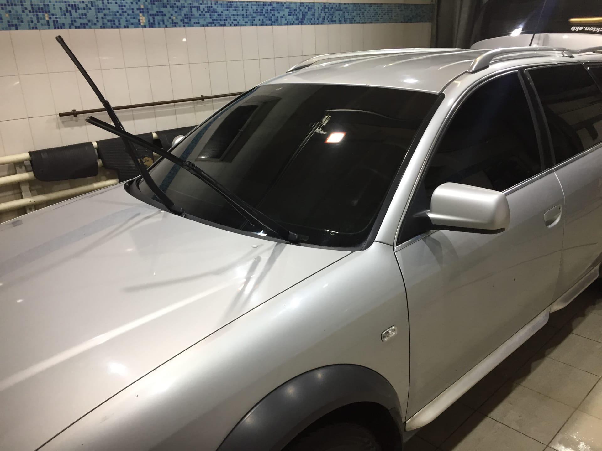 Тонировка серебристого авто Екатеринбург