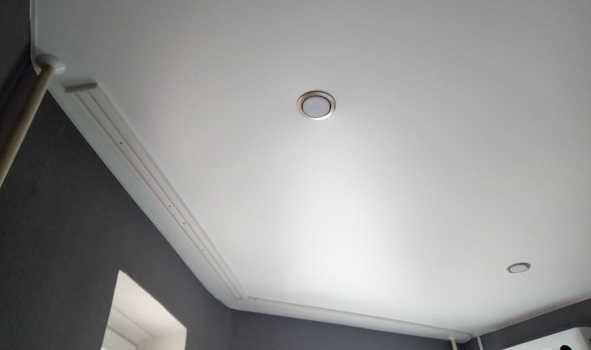 Фото сатиновый натяжного потолок в Вашем городе 16,5 м2 в спальню