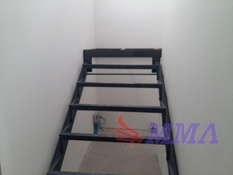 лестница, металл, швеллер, уголок