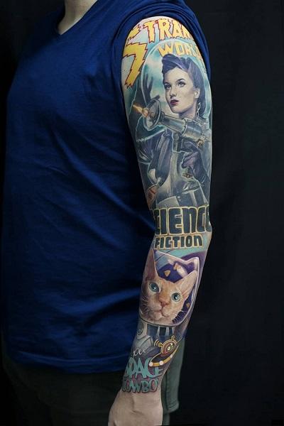 татуировка фотография эскиз мужские на плече дракон