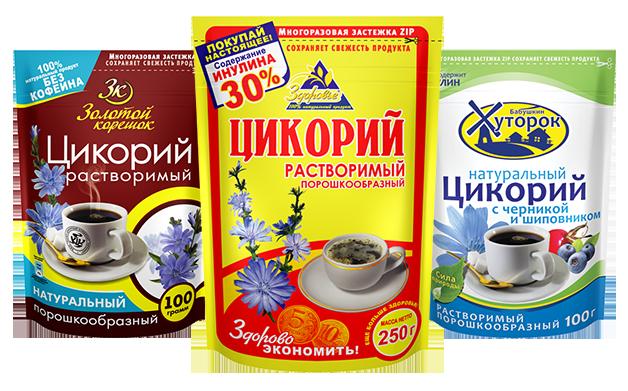 """Цикорий Кофейная компания """"Вокруг Света"""""""