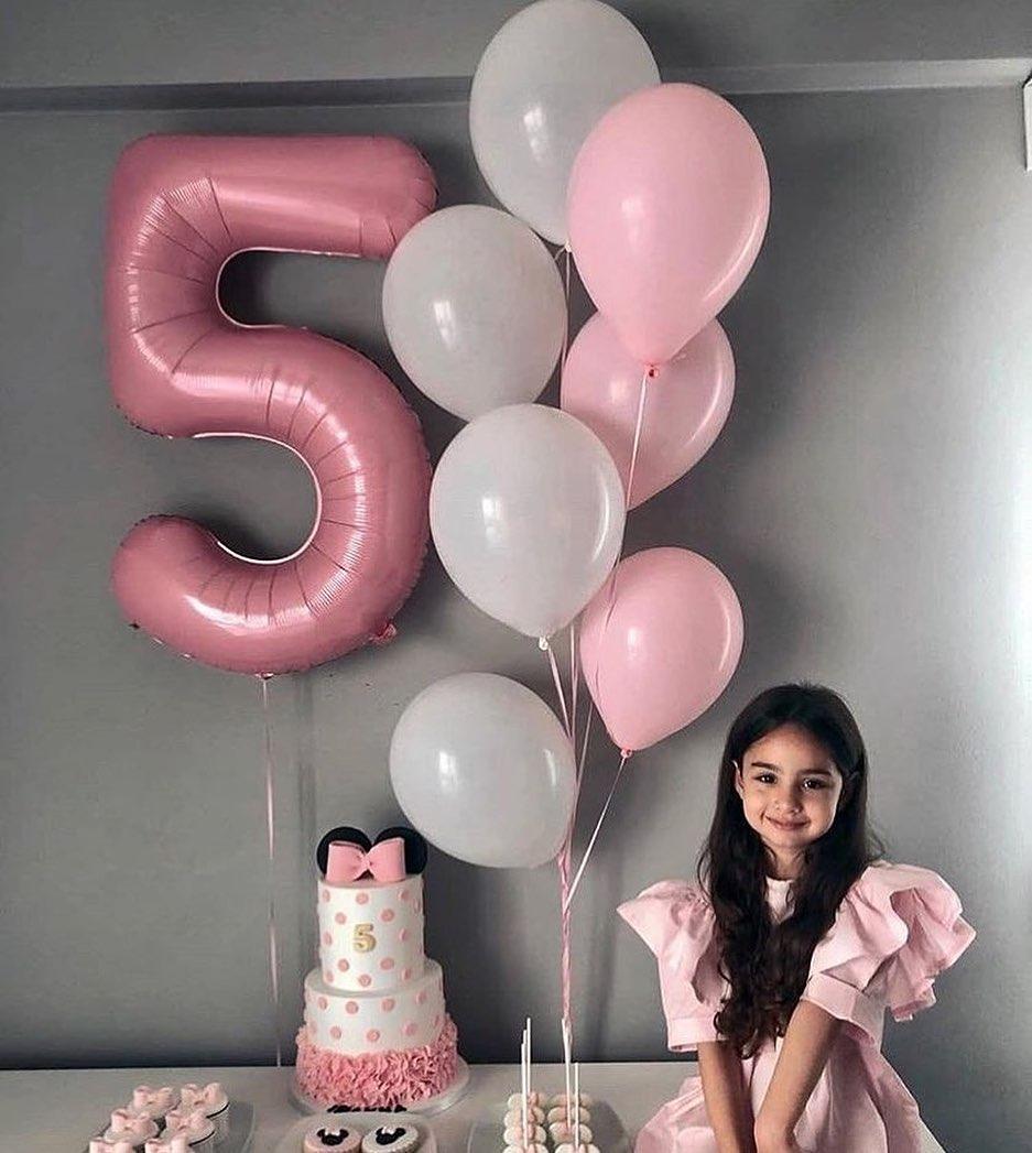 Шары на день рождения девочки 5 лет