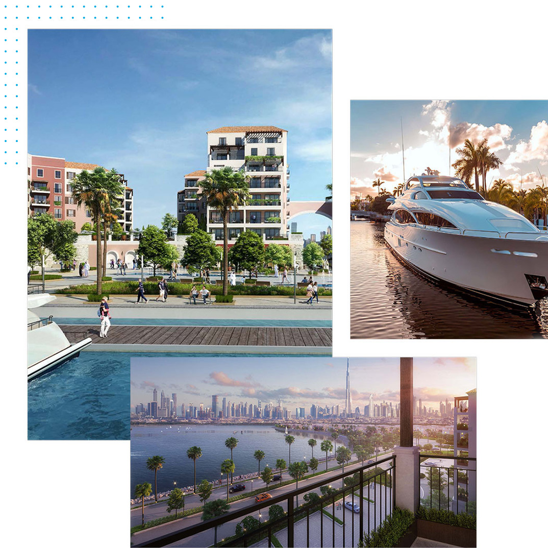 Meraas Port De La Mer Apartments for Sale in Dubai