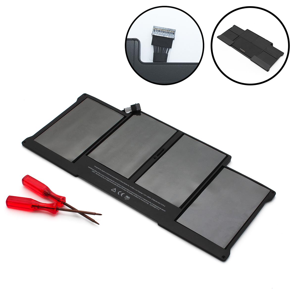 "Батарея, аккумулятор для MacBook Air 13"" 2011-2012 (A1369/a1466)"