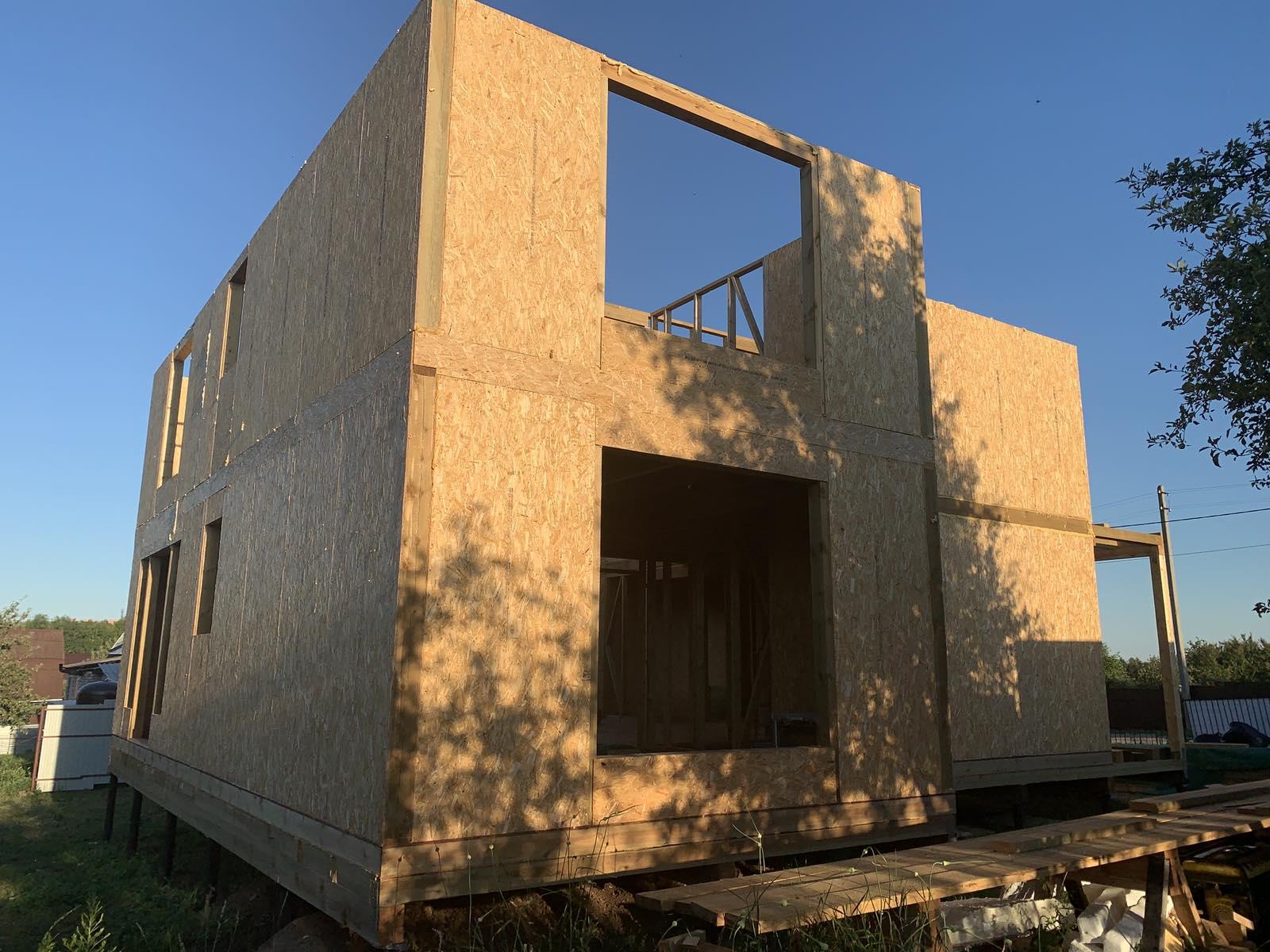 фото дома из сип панелей №3 курск