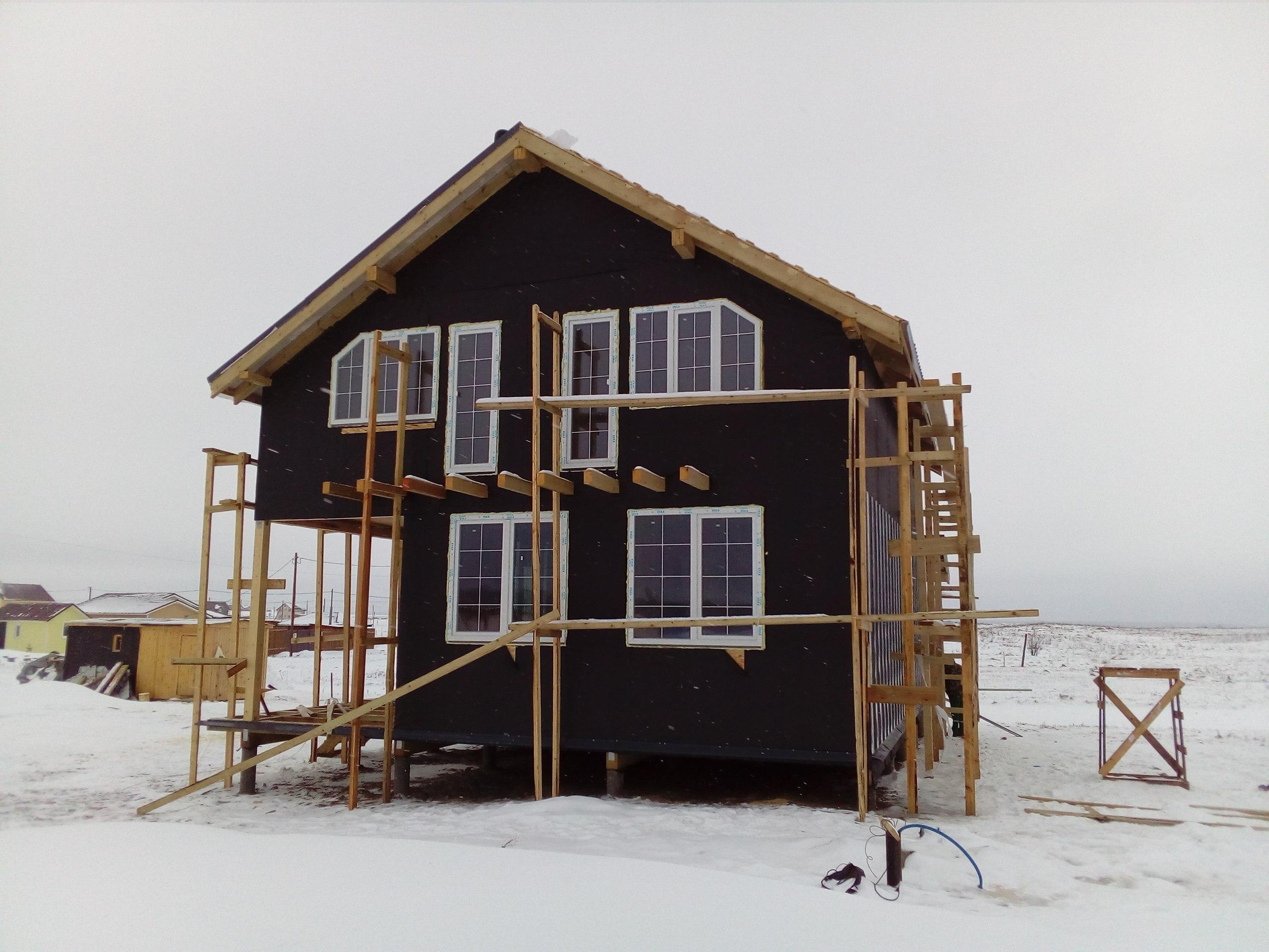 фото дома из сип панелей №5 сокули