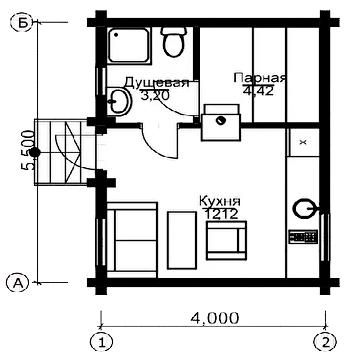 План первого этажа München BAN (Баня Мюнхен)
