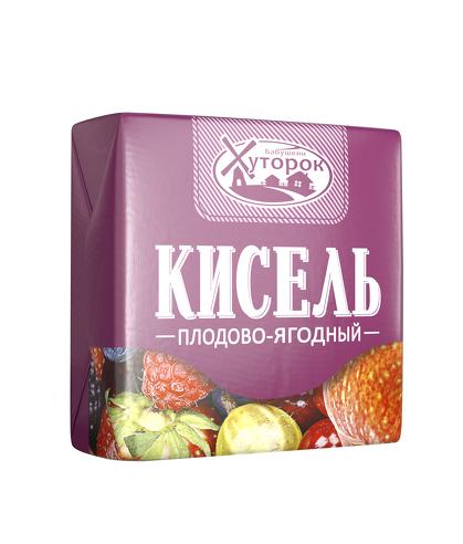 Картинка Кисель БАБУШКИН ХУТОРОК плодово-ягодный