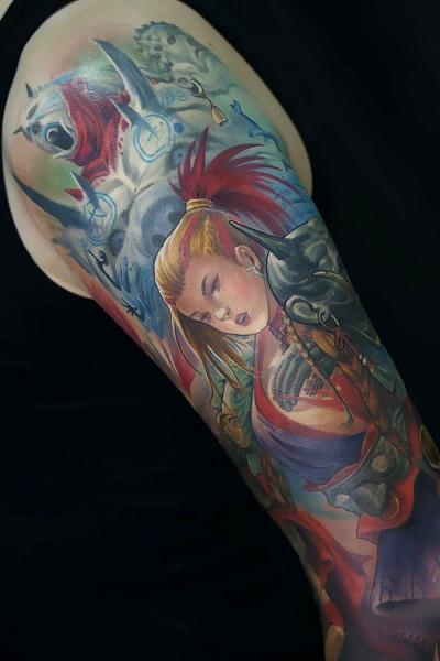 татуировка фотография эскиз для женщин на руке птицы
