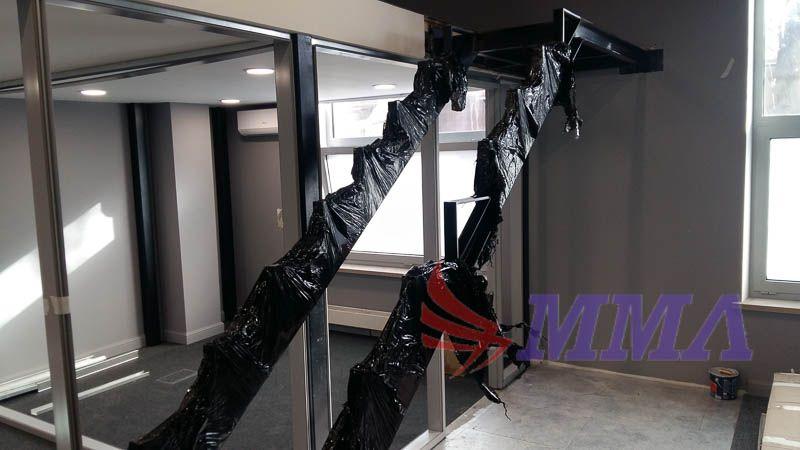 лестница, металлокаркас, каркас, металл,