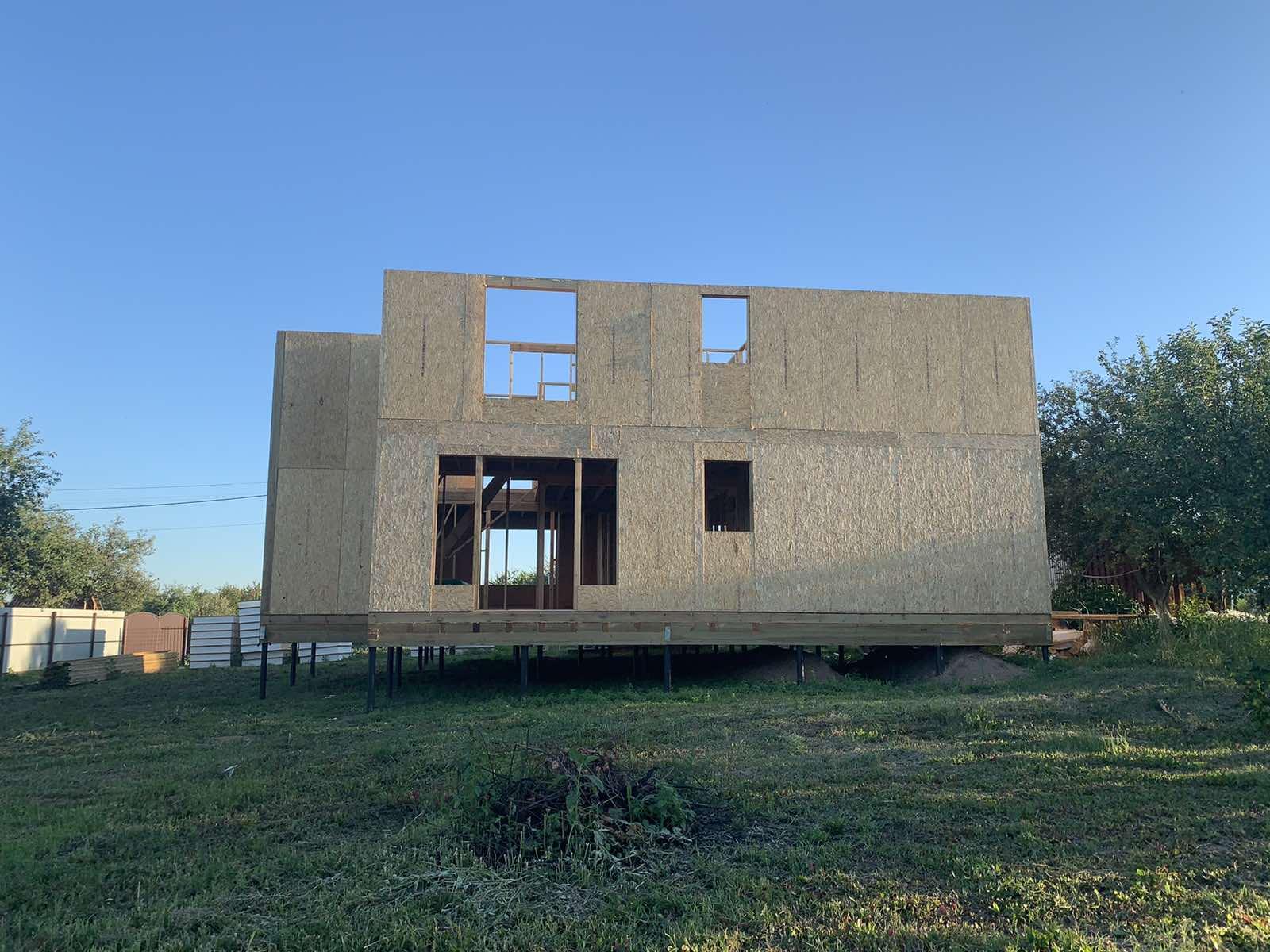 фото дома из сип панелей №1 курск