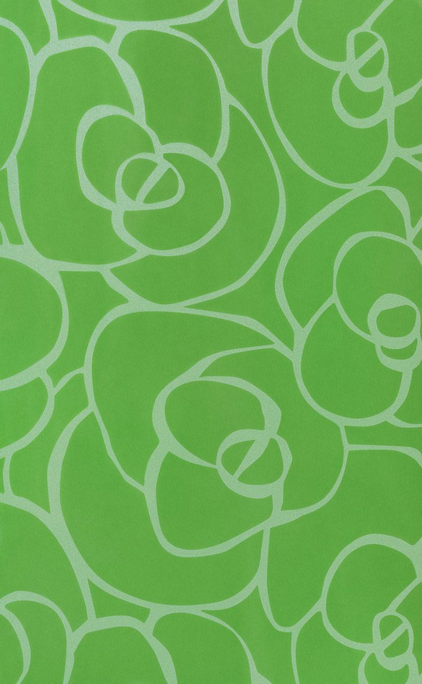 8706 HG Цветочная фантазия в зеленом