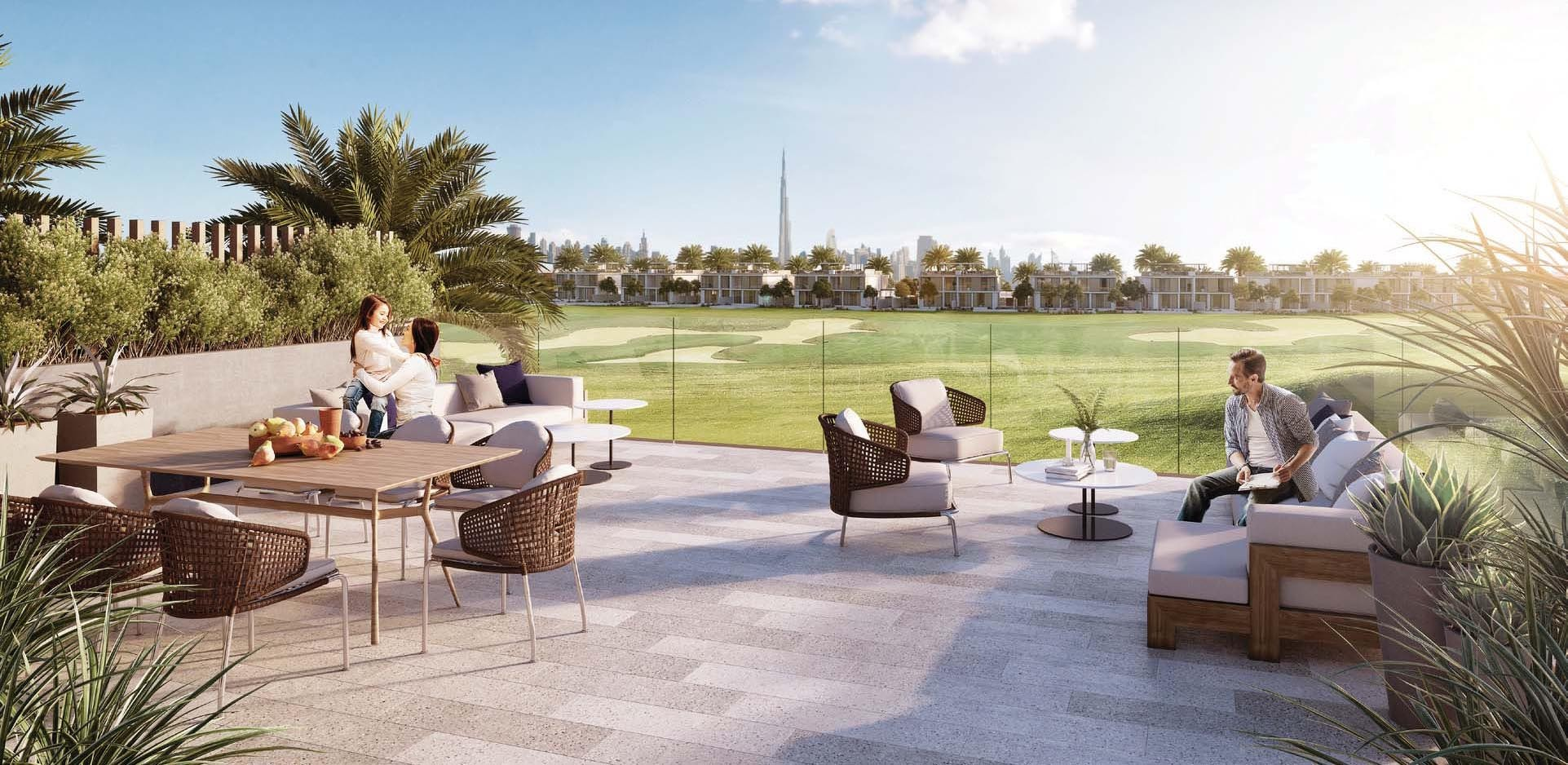 Emaar Club Villas in Dubai Hills Estate