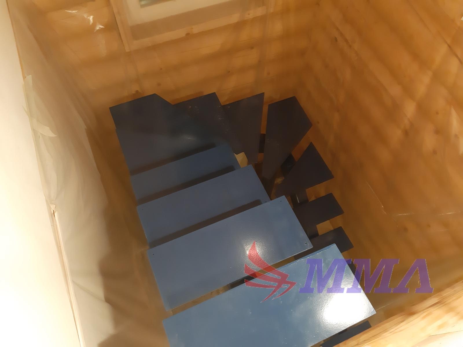 монокосоур, лестница, металлокаркас, каркас,