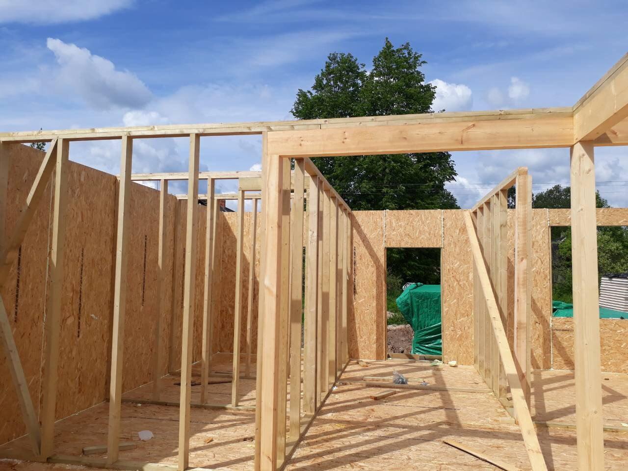 фото дома из сип панелей №7 зеленогорск