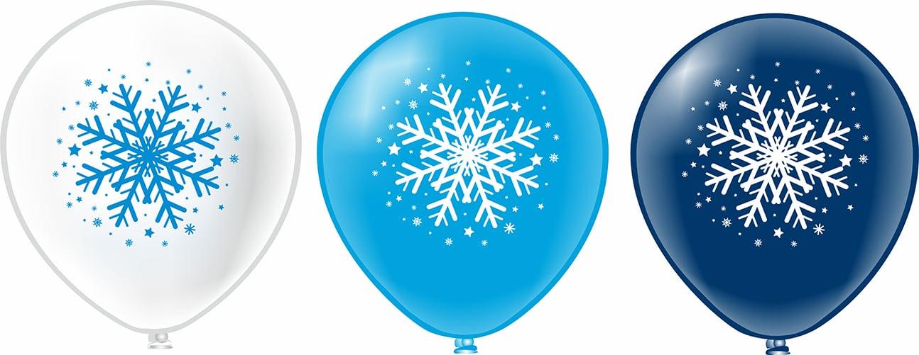 Шары с гелием С новым годом!