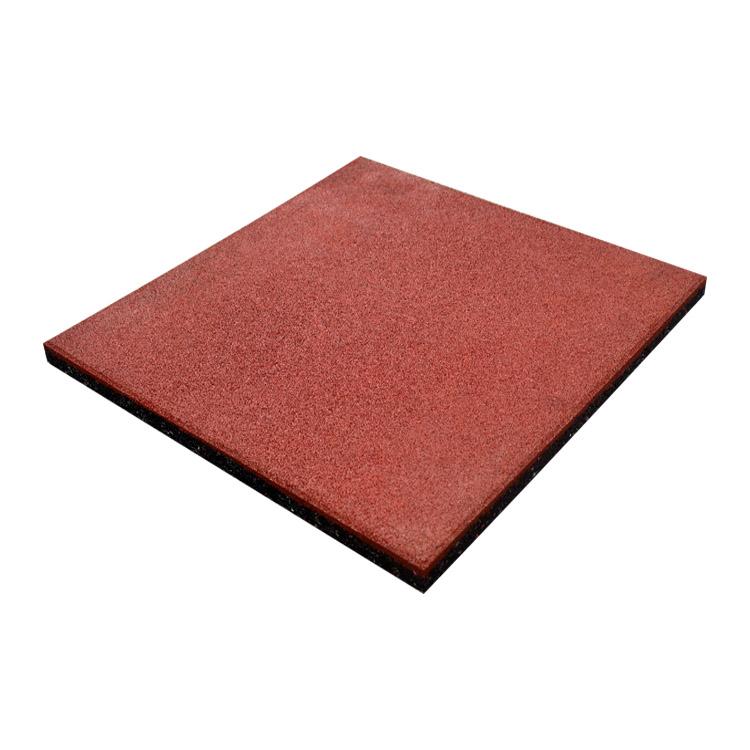 Резиновая плитка 500x500x15