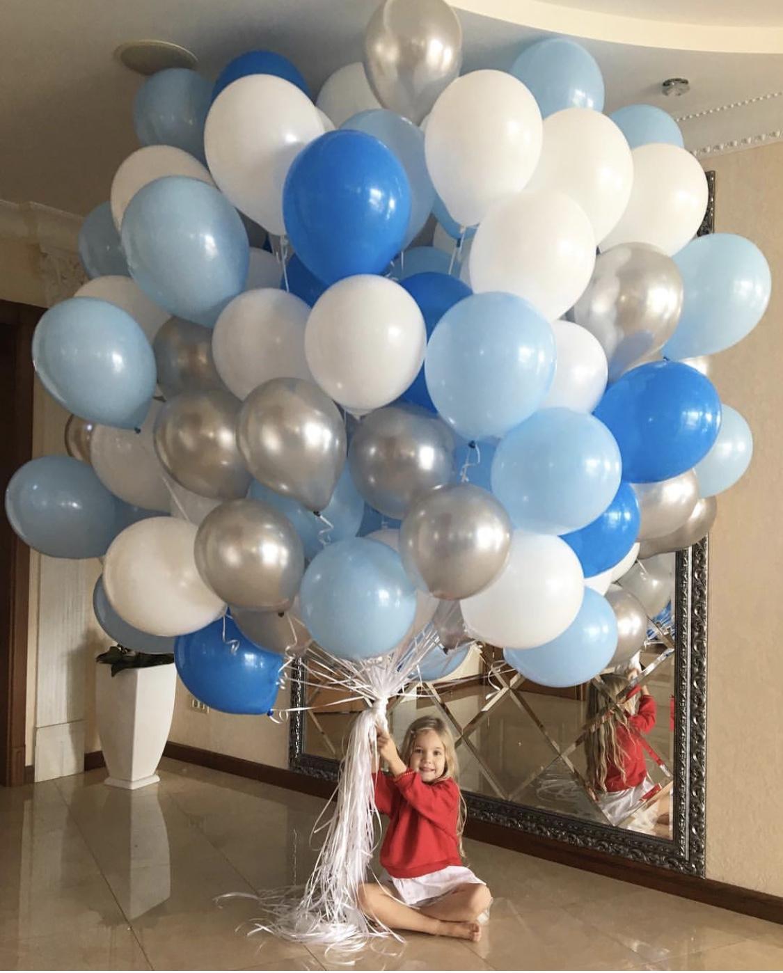 Облако из 100 шаров