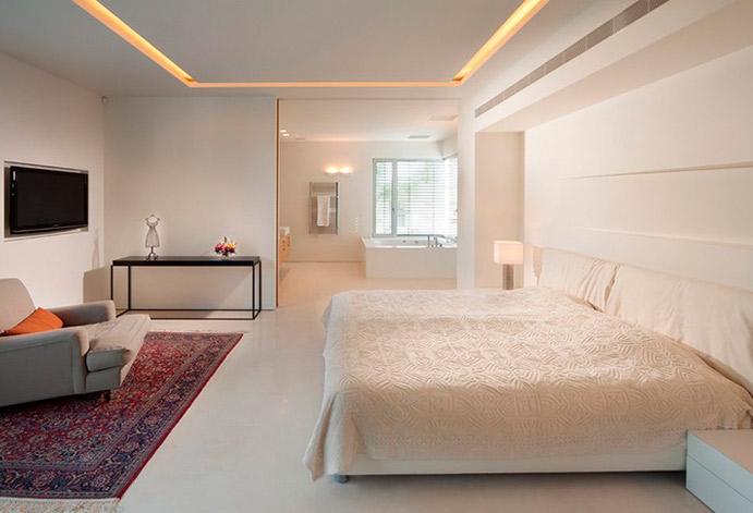 натяжные потолки в спане практично и красиво