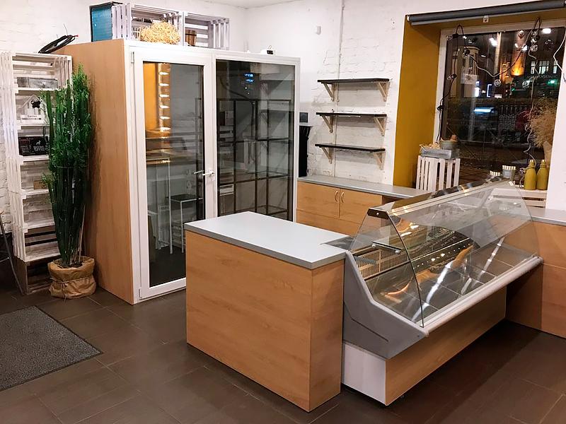 торговая мебель для магазина сыров