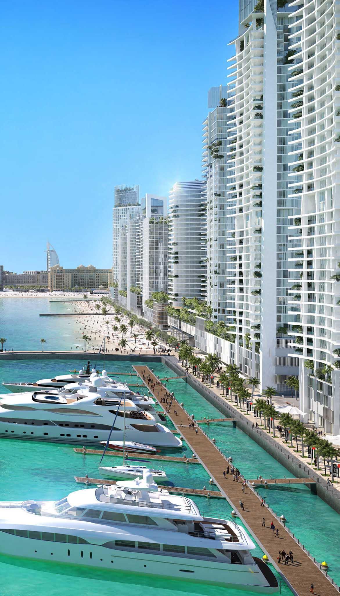 Emaar Beachfront Beach Vista Apartments for Sale in Dubai