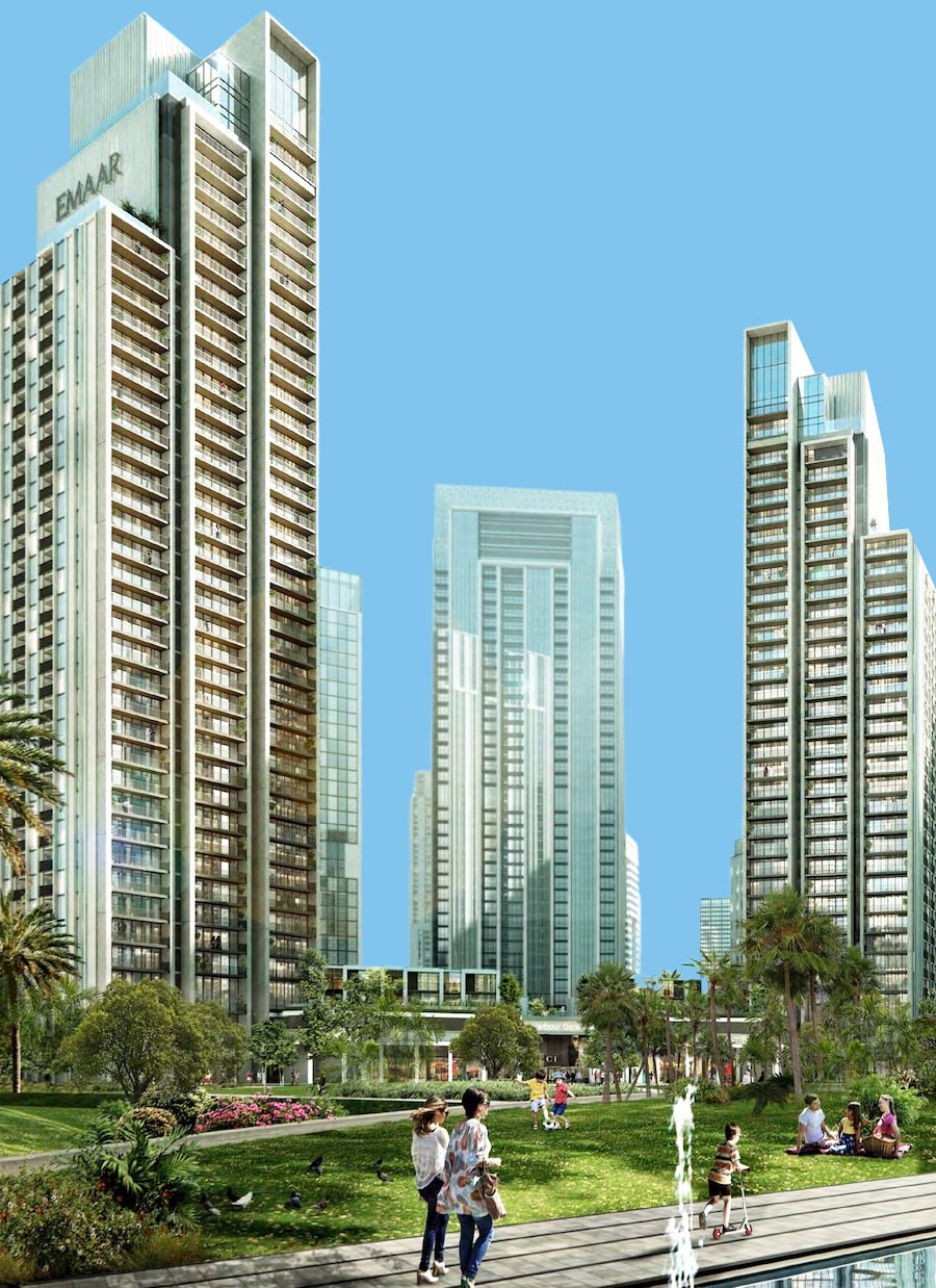 Harbour Gate in Dubai Creek Harbour by Emaar, Dubai – Off-Plan Apartments