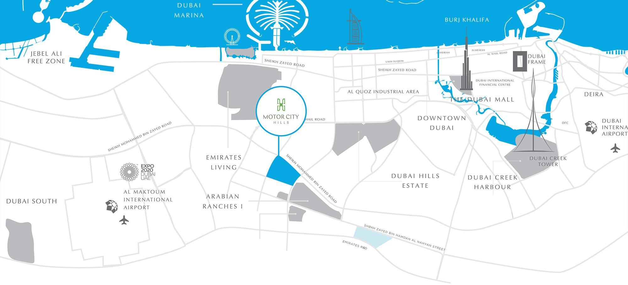 منازل تاون هاوس في موتور سيتي هيلز للبيع في دبي - من شركة الاتحاد العقارية