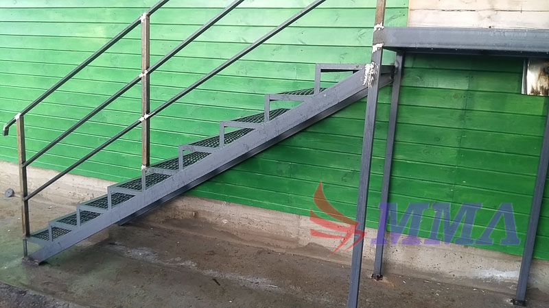 лестница, металл, каркас,
