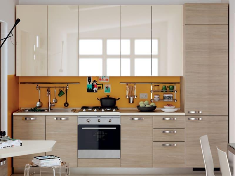 кухня высокий глянец