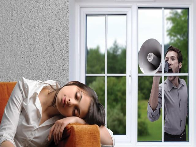 Шум за окном