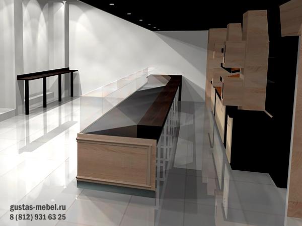 дизайн-проект магазина пекарни